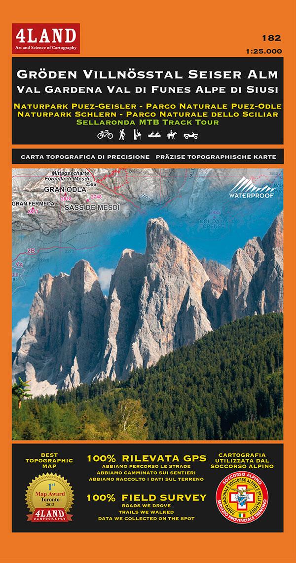 4LAND Gröden Villnösstal Seiser Alm Val Gardena Val di Funes Alpe di Siusi