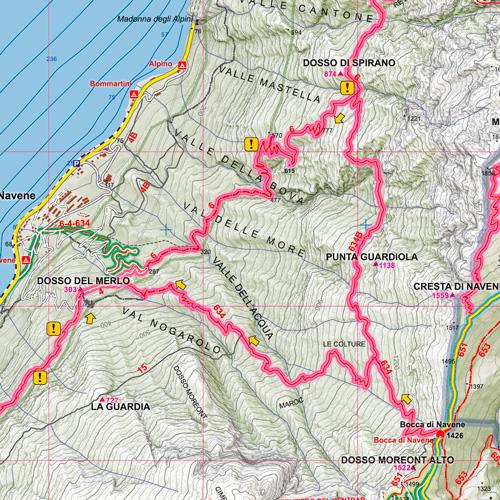 Monte Baldo Settentrionale dettaglio