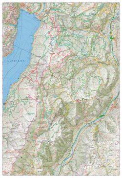 Monte Baldo - Best Topographic Map Award Avenza