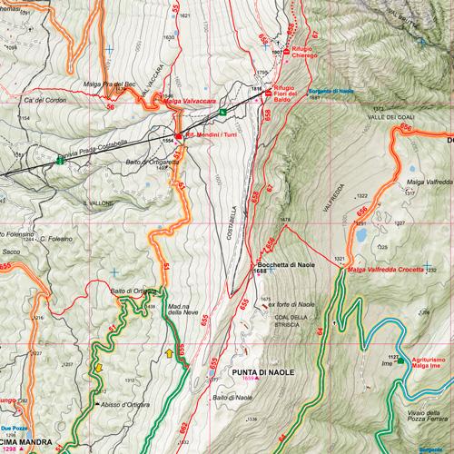 Monte Baldo Meridionale dettaglio