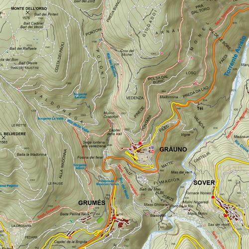 Valle di Cembra dettaglio