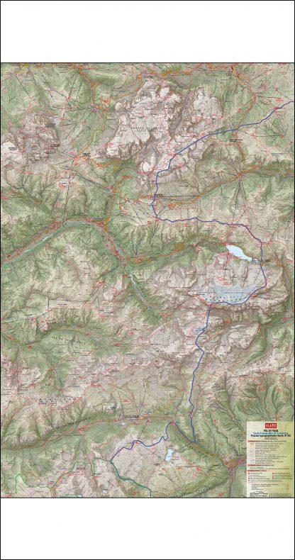 Val di Fassa (east side) N.133 - 4LAND